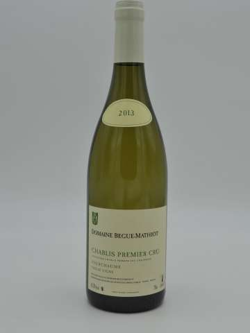 Chablis 1er Cru Fourchaume Vieilles Vignes - Begue-Mathiot